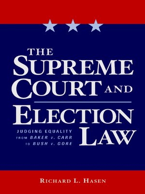 cover image of The Supreme Court and Election Law