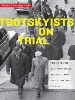 cover image of Trotskyists on Trial