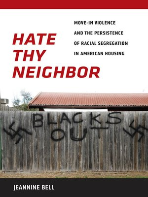 cover image of Hate Thy Neighbor