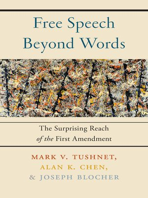 cover image of Free Speech Beyond Words