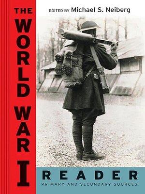 cover image of The World War I Reader
