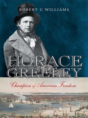 cover image of Horace Greeley