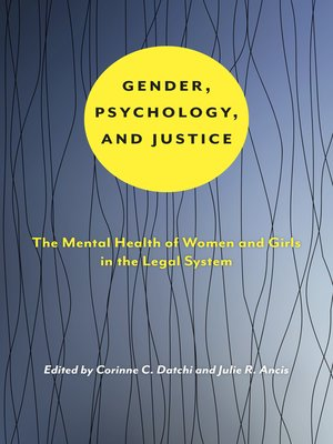 cover image of Gender, Psychology, and Justice