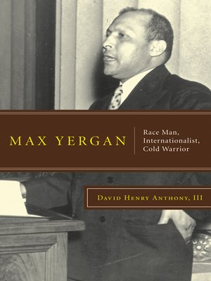 cover image of Max Yergan