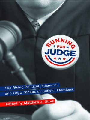 cover image of Running for Judge