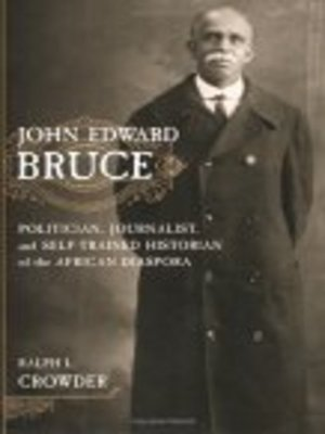 cover image of John Edward Bruce