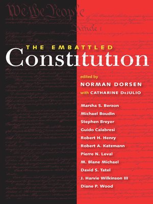 cover image of The Embattled Constitution