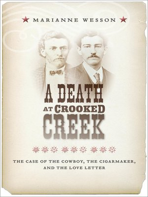 cover image of A Death at Crooked Creek