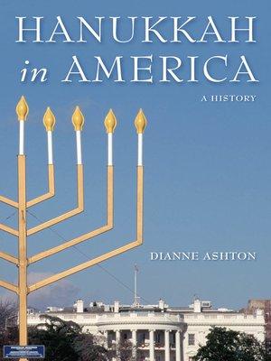 cover image of Hanukkah in America