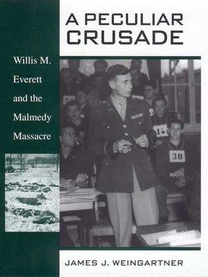 cover image of A Peculiar Crusade