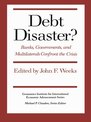 cover image of Debt Disaster?