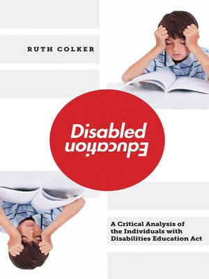 cover image of Disabled Education