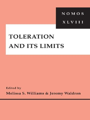 cover image of Toleration and Its Limits