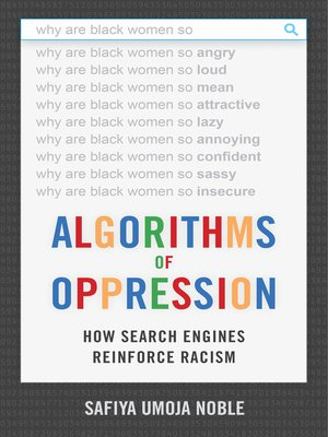 cover image of Algorithms of Oppression