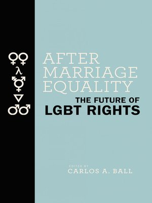 cover image of After Marriage Equality