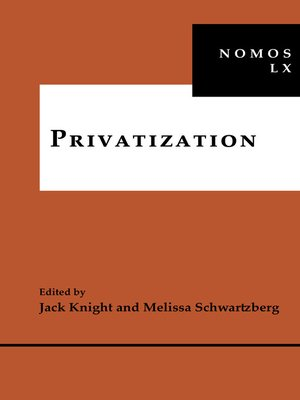 cover image of Privatization