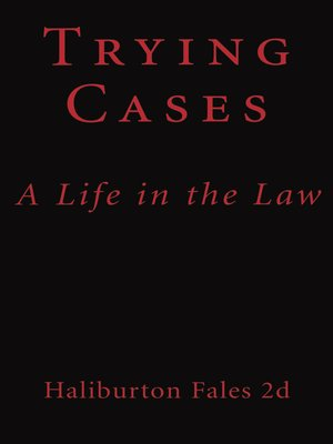 cover image of Trying Cases