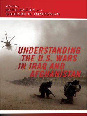 cover image of Understanding the U.S. Wars in Iraq and Afghanistan