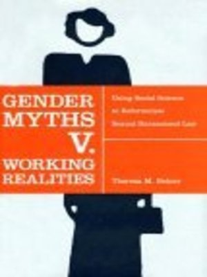 cover image of Gender Myths v. Working Realities