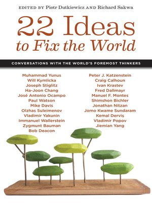 cover image of 22 Ideas to Fix the World