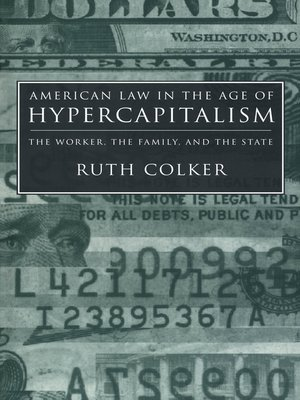 cover image of American Law in the Age of Hypercapitalism