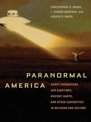 cover image of Paranormal America