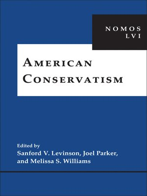 cover image of American Conservatism