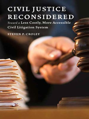 cover image of Civil Justice Reconsidered
