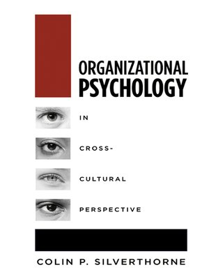 cover image of Organizational Psychology in Cross Cultural Perspective
