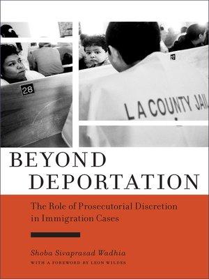 cover image of Beyond Deportation