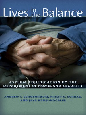 cover image of Lives in the Balance