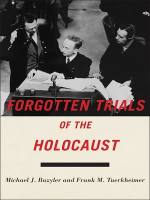 cover image of Forgotten Trials of the Holocaust