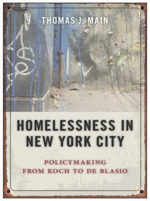 cover image of Homelessness in New York City