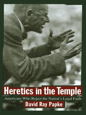 cover image of Heretics in the Temple