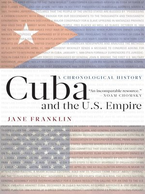 cover image of Cuba and the U.S. Empire