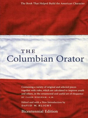 cover image of The Columbian Orator