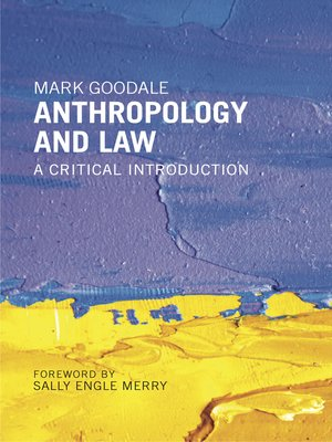 cover image of Anthropology and Law