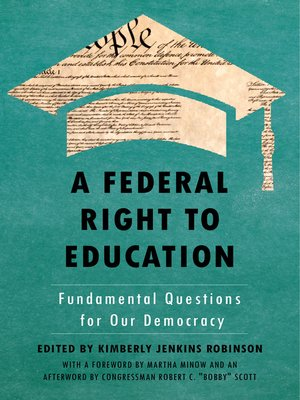 cover image of A Federal Right to Education