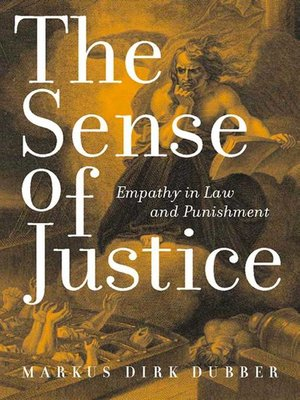 cover image of The Sense of Justice