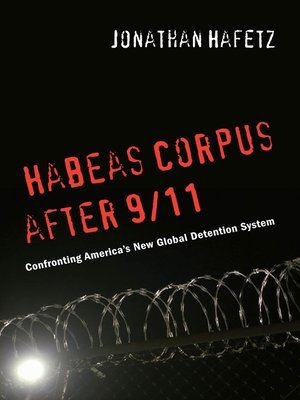 cover image of Habeas Corpus after 9/11