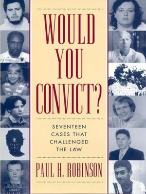cover image of Would You Convict?