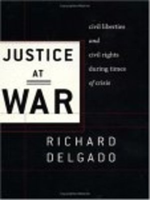 cover image of Justice at War
