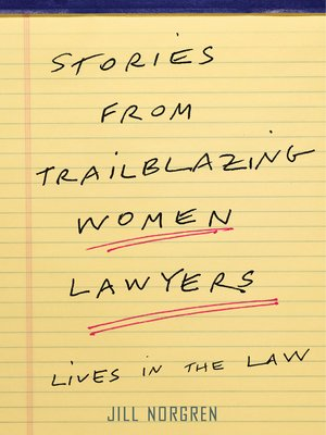 cover image of Stories from Trailblazing Women Lawyers