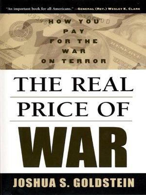 cover image of The Real Price of War