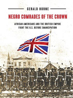 cover image of Negro Comrades of the Crown