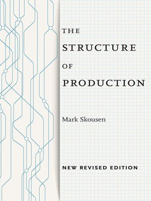 cover image of The Structure of Production