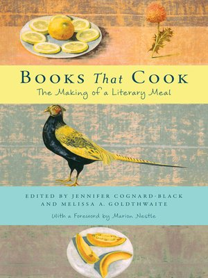 cover image of Books That Cook