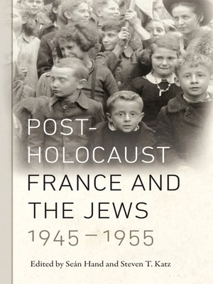 cover image of Post-Holocaust France and the Jews, 1945-1955