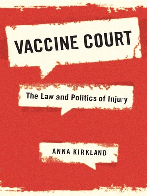 cover image of Vaccine Court