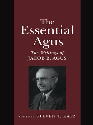 cover image of The Essential Agus